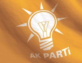 Çorumda AK Partiden istifalar