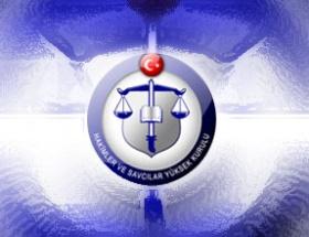227 hakimin görev yeri değişti