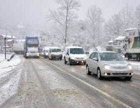 Bursa-Ankara karayolu kapandı