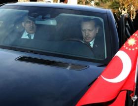 Başbakan Erdoğan direksiyon başında