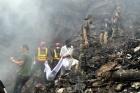 Pakistanda uçak kazası