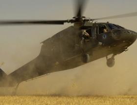 Afganistanda NATO helikopteri düştü