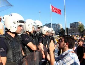 Polisle esnaf arasında ilginç diyalog