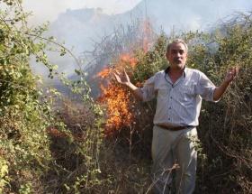 Turgutluda 4 noktada orman yangını