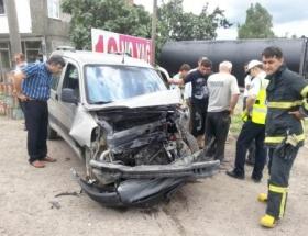 Ünyede trafik kazası: 1i ağır 5 yaralı