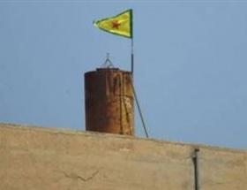 PYD bayrağı indirildi