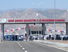 Şerafettin Elçi Havalimanı açılıyor