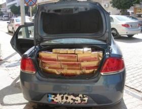 Ceyhanda 110 bin paket kaçak sigara ele geçirildi