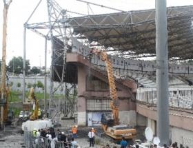 İnönü Stadındaki yıkım devam edecek