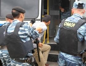 Moskovada büyük operasyon: 500 gözaltı