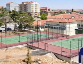 Kırşehir tenis kortlarına kavuşuyor