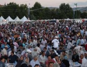 Beyşehirde iftar coşkusu