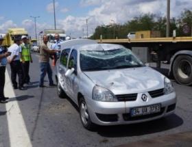Ataşehirde kaza: 2 yaralı