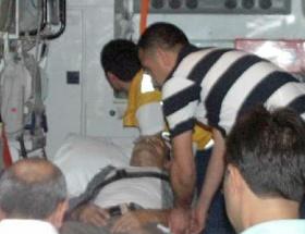 Andırında kaza: 1 yaralı