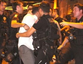 Okmeydanındaki gösteride yaralanan eylemci serbest