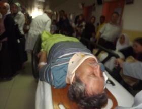 Hasan Gerçeker kaza geçirdi