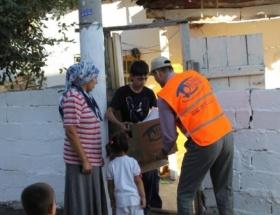 Sivasta, 500 aileye gıda yardımı