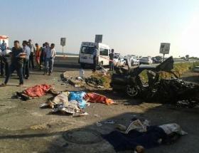 İzmirde katliam gibi kaza