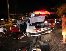 Karamanda trafik kazası: 7 yaralı