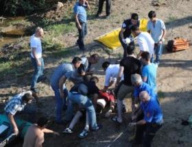 Kızılırmak Nehrine bir kişi boğuldu