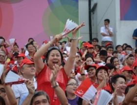 Singapur 48. yaşını kutladı