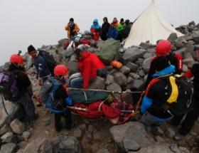 Ağrı Dağının zirvesinde kurtarma operasyonu