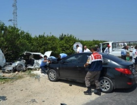 Kozanda trafik kazası: 1 ölü, 7 yaralı
