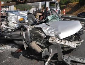 Karapınarda kaza: 1 ölü