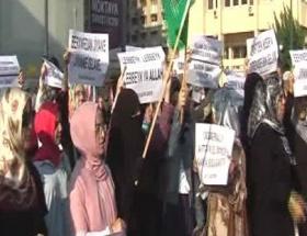 Mısırdaki katliama İzmirden tepki