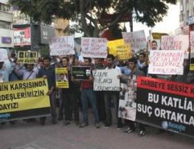Mersinde, Mursiye destek eylemi