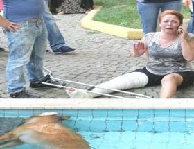 Süs havuzunda elektrik akımına kapılarak öldü