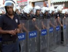 Taksim Meydanına yürüyüşe polis engeli