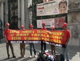 TMMOBun Ankara yürüyüşü başladı