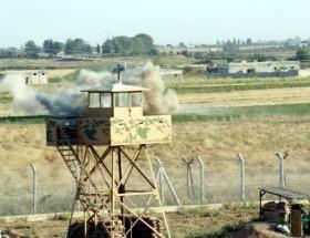 Sınırda askere taşlı saldırı