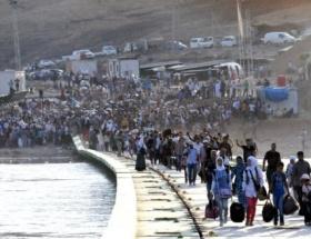Suriyeden Iraka Kürt göçü