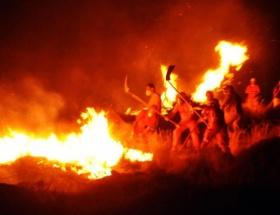 Zonguldakta orman yangını