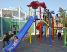 Eğirdirde çocuklara modern park