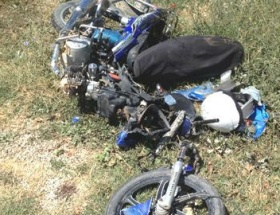 Göksunda trafik kazası: 1 ölü, 1 yaralı