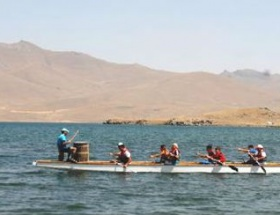Ağrılılar Balık Gölündeki festivalde buluştu