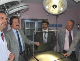 Cumhuriyet Üniversitesinde yanık ünitesi açıldı