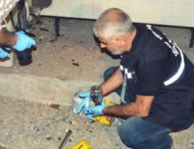 İftar çadırına molotoflu saldırı