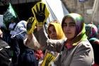 Tüm Türkiyede Mısır ve Suriye protestosu