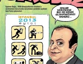 Egemen Bağışlı olimpiyat kapağı