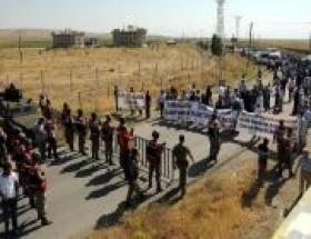 Cezaevi önünde hasta tutuklular için eylem