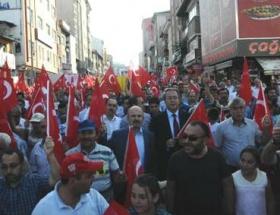 Nevşehirden Mısıra destek mitingi