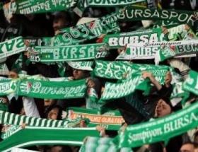 Bursaspor taraftarlarından Dauma tepki