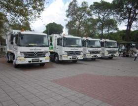 Ünye Belediyesi araç filosuna 4 yeni araç daha katıldı