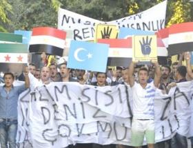 Mısır ve Suriye için yürüdüler