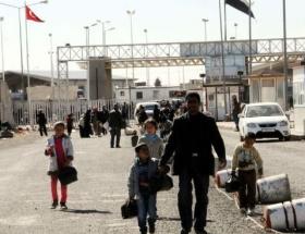 Akçakaledeki Suriyeliler ülkelerine geri döndü