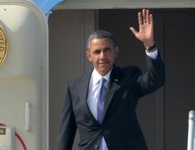 Obamanın sürpriz ziyaretinde skandal